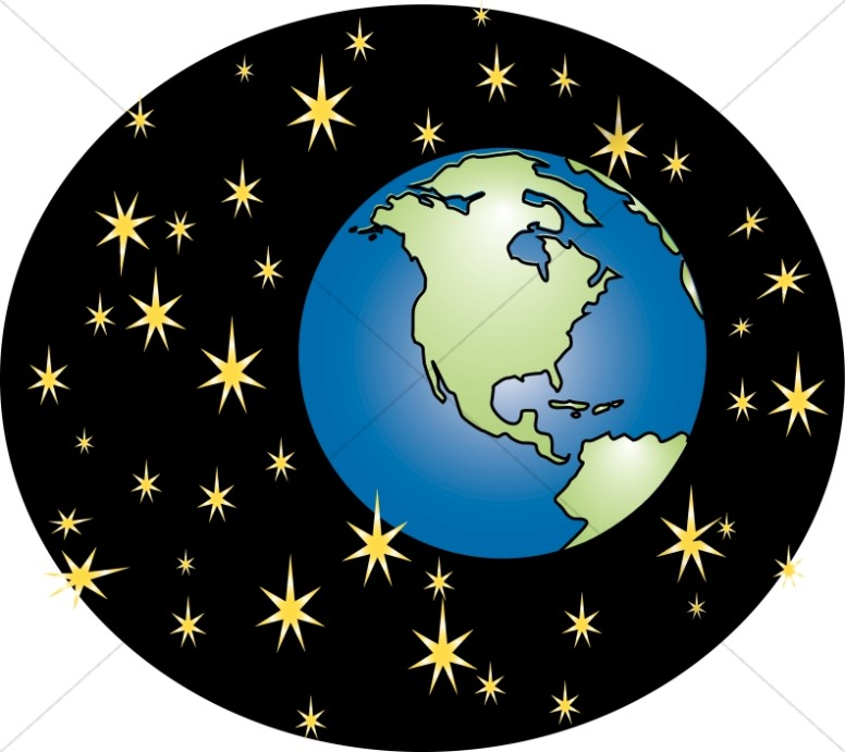 And stars graphic inspirational. Heaven clipart earth heaven