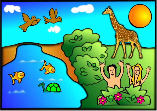 Free cliparts download clip. Creation clipart genesis
