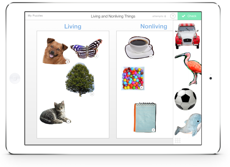 Nonliving things learning in. Creation clipart living thing