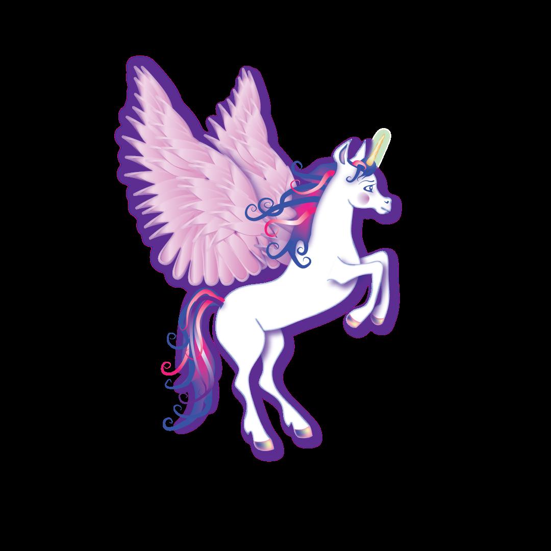 Unicorn clip art creatures. Creation clipart may