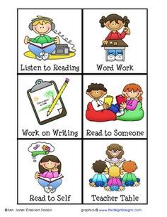 Free download daily class. Writer clipart word work center