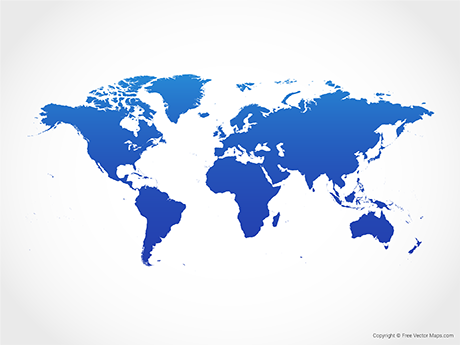 Creation clipart simple world. Free vector maps royalty