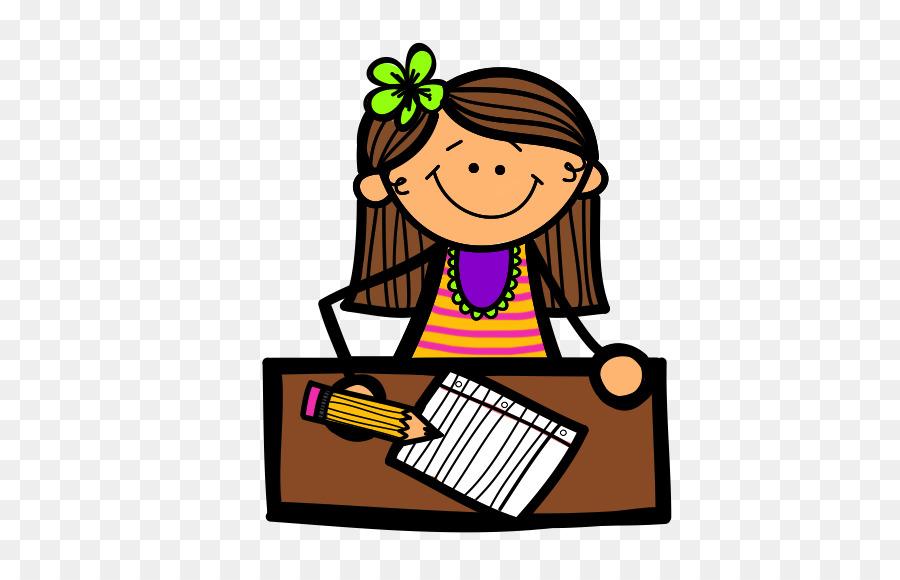 Writer clipart creative writing. Girl child clip art