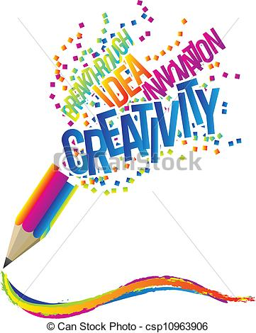 Be . Creative clipart