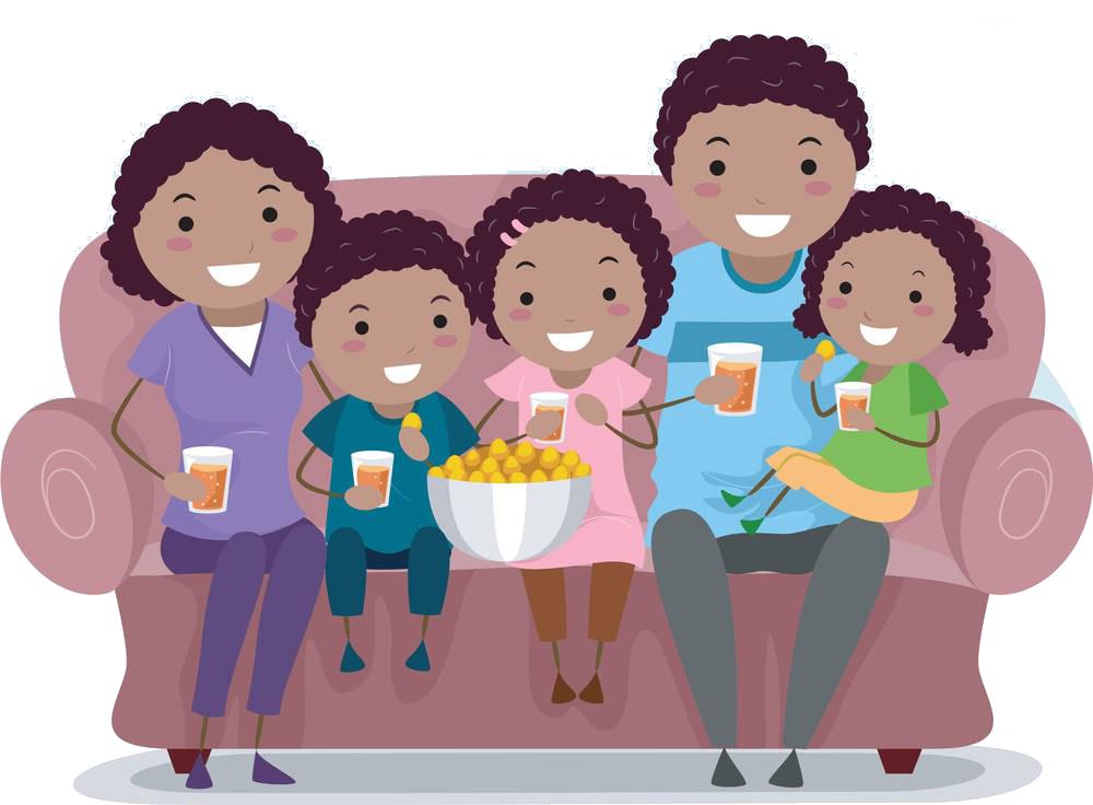 Family cartoon clip art. Creative clipart creative play