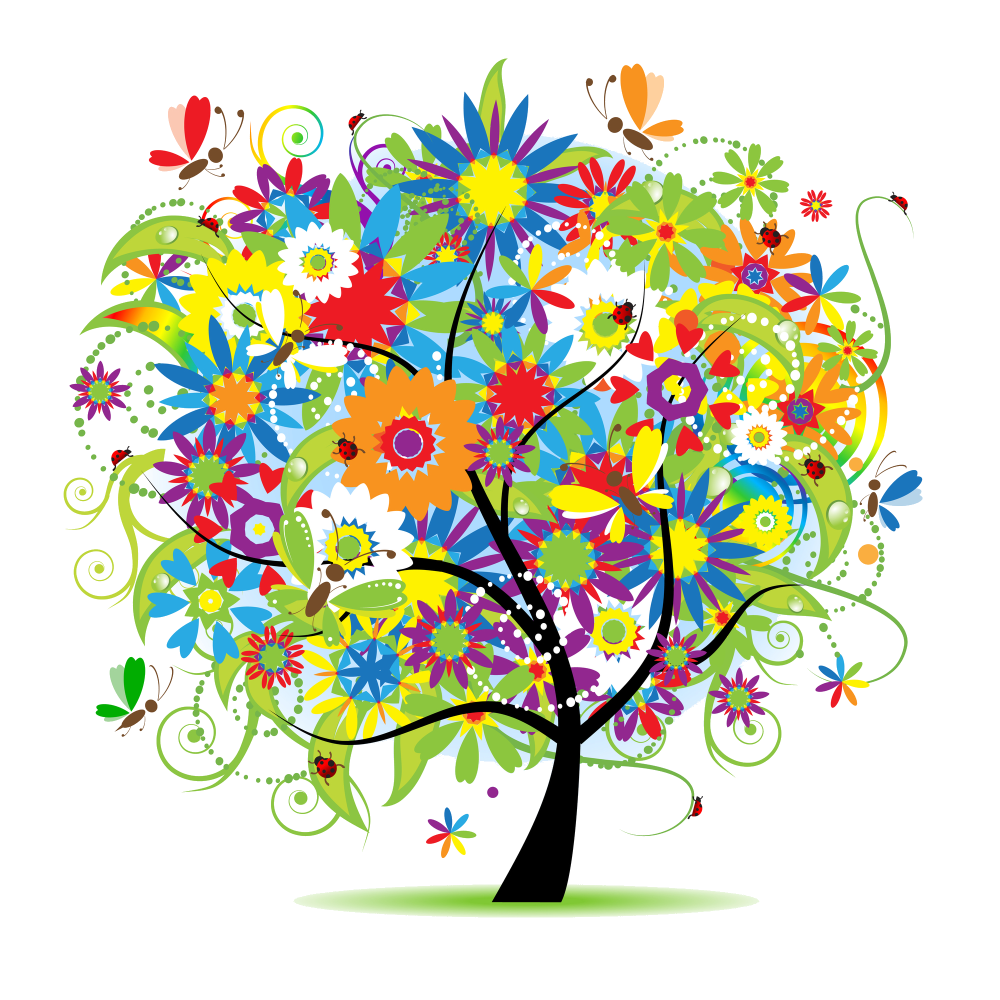 Creative clipart creative tree. My mind is shelter