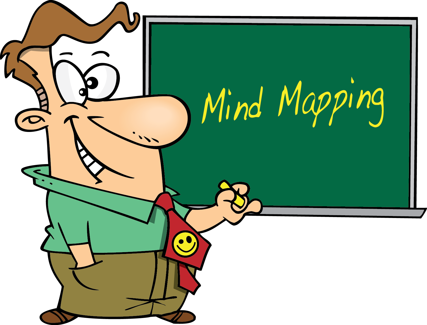 Maps clipart planning. Concise learning mind mapping