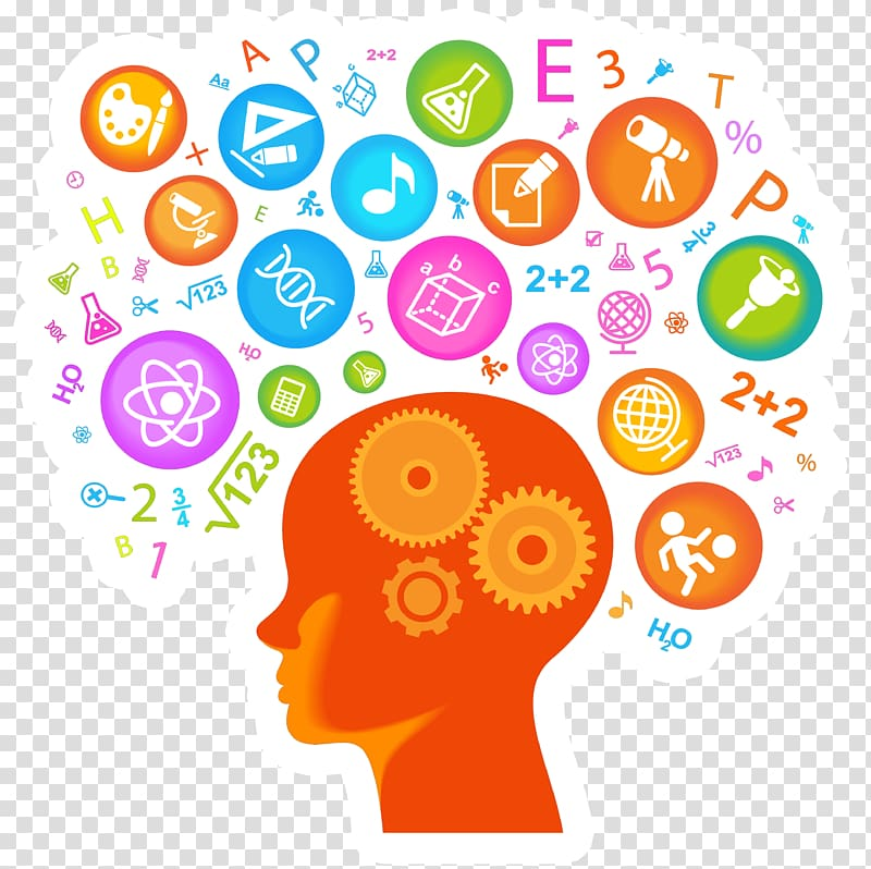 Psychology clipart knowledge management. Brain science technology engineering