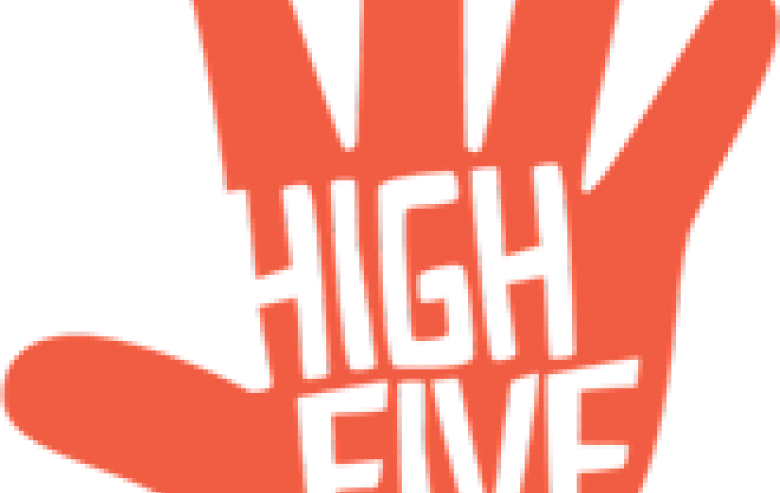 Donation clipart school funding. Creative roots high five