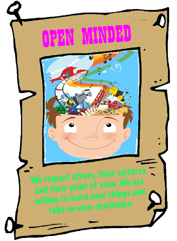 Image result for open minded clipart