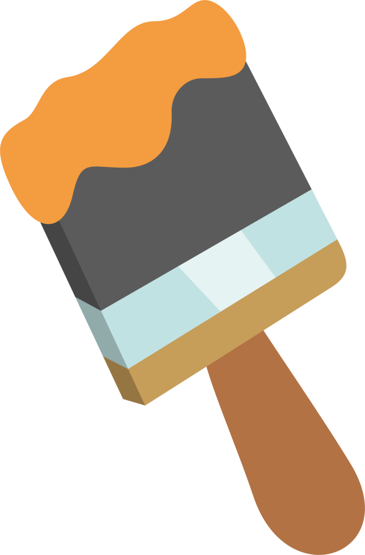 Paint brush vector png. Mlp by pikamander on