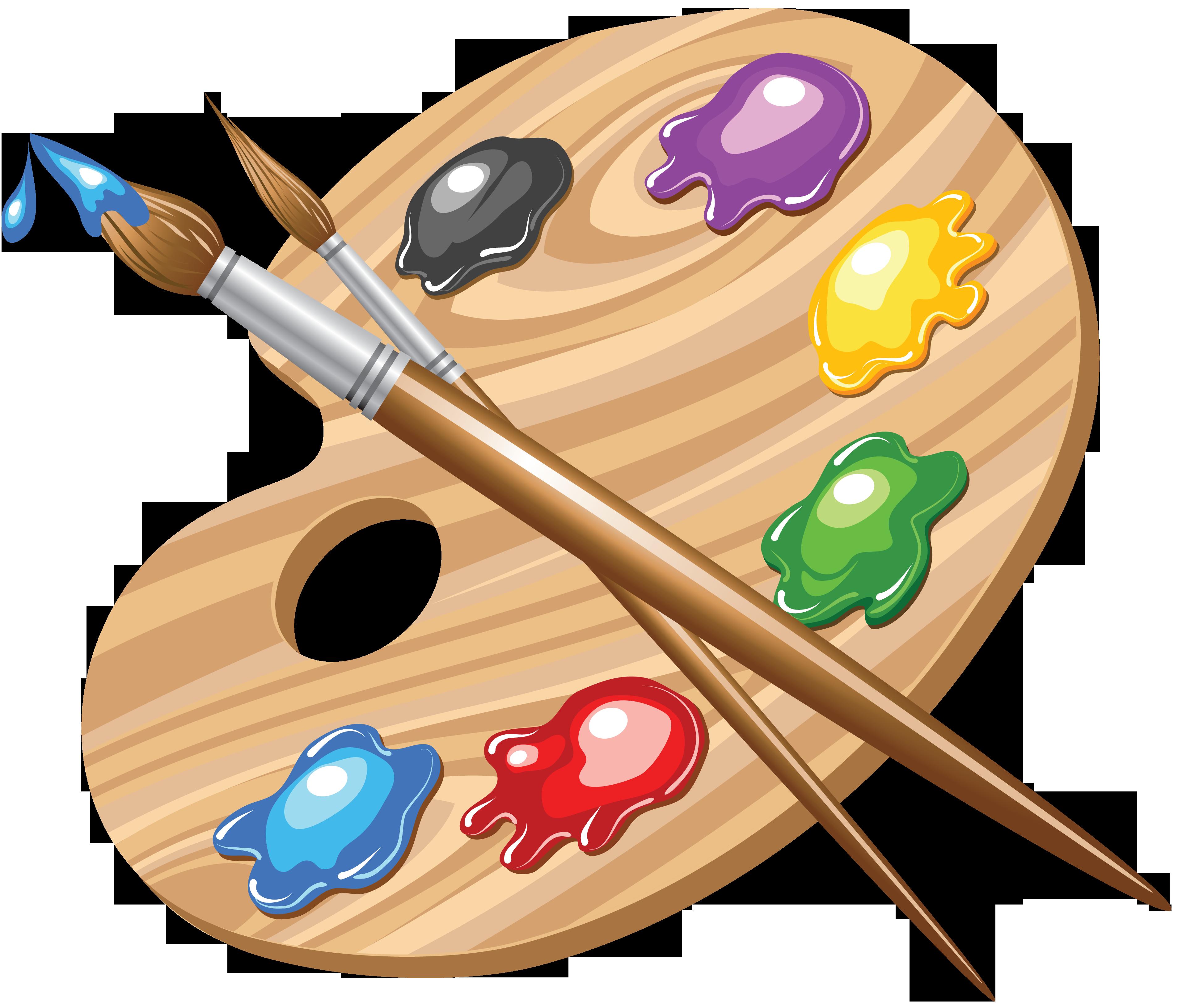 Paintbrush clipart art club.  inspiration pinterest