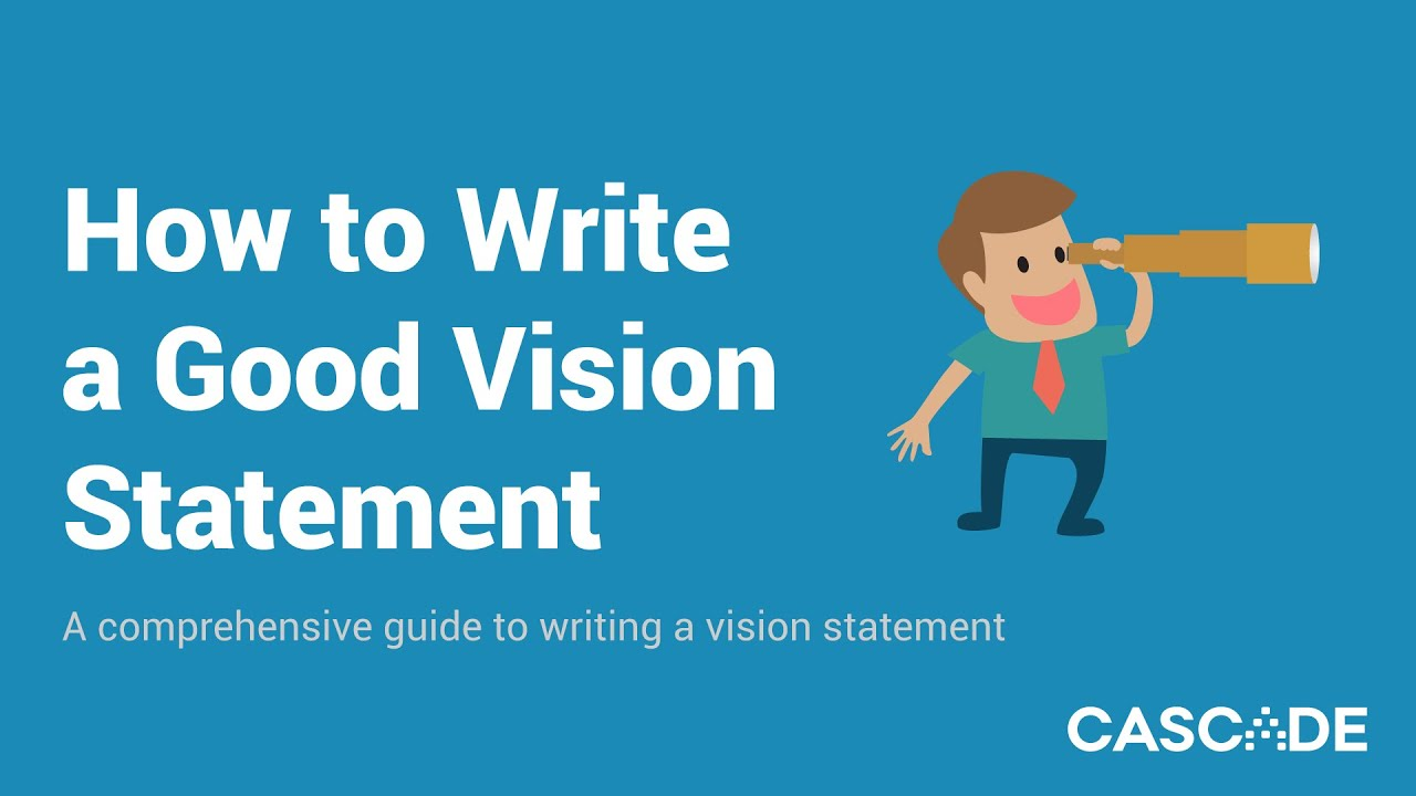 Vision clipart mission control. How to write a