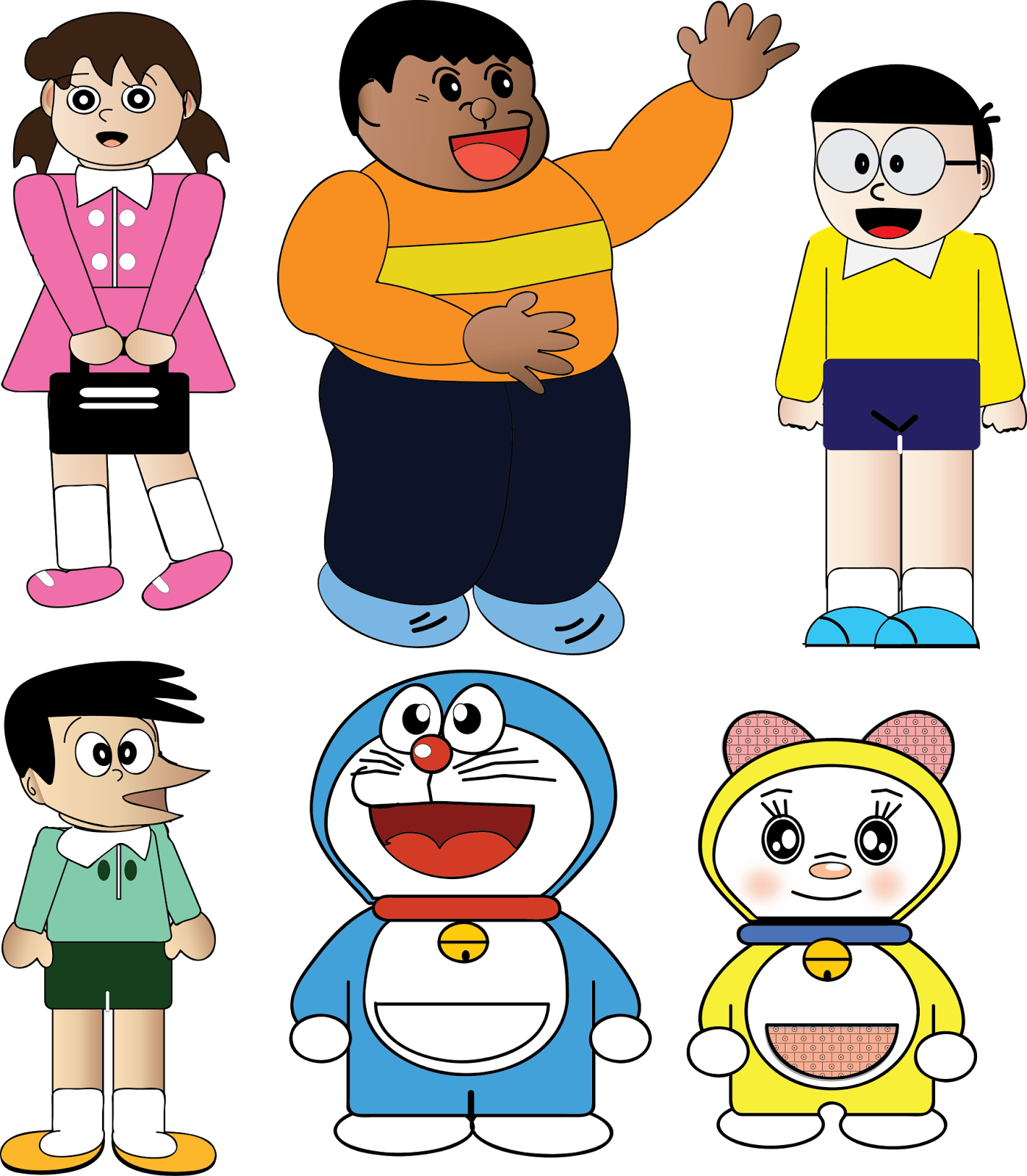 Mind s studio doraemon. Creative clipart team