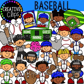 Creative clipart team. Baseball clips