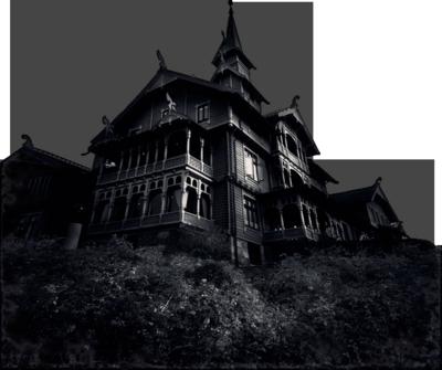 creepy house png
