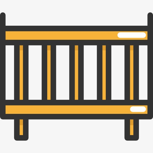 Cot kartel cartoon png. Crib clipart