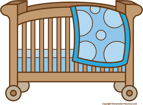 Baby shower cartoon warehousemold. Crib clipart
