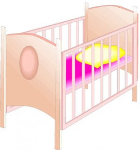 clipartlook. Crib clipart baby thing