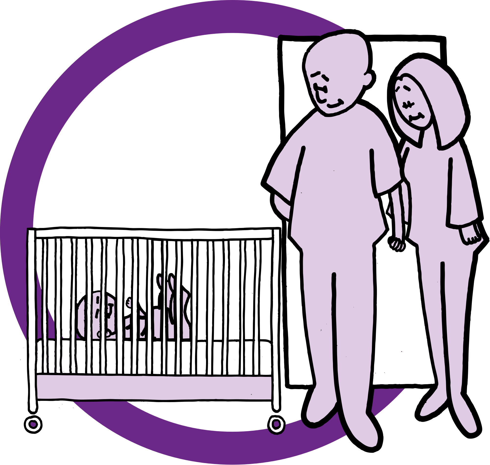 Employee clipart interaction. File child in crib