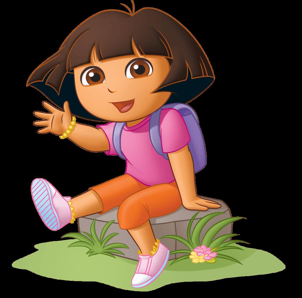 Nickelodeon dora the explorer. Furniture clipart toddler bed