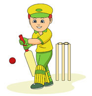 Sports free to download. Cricket clipart