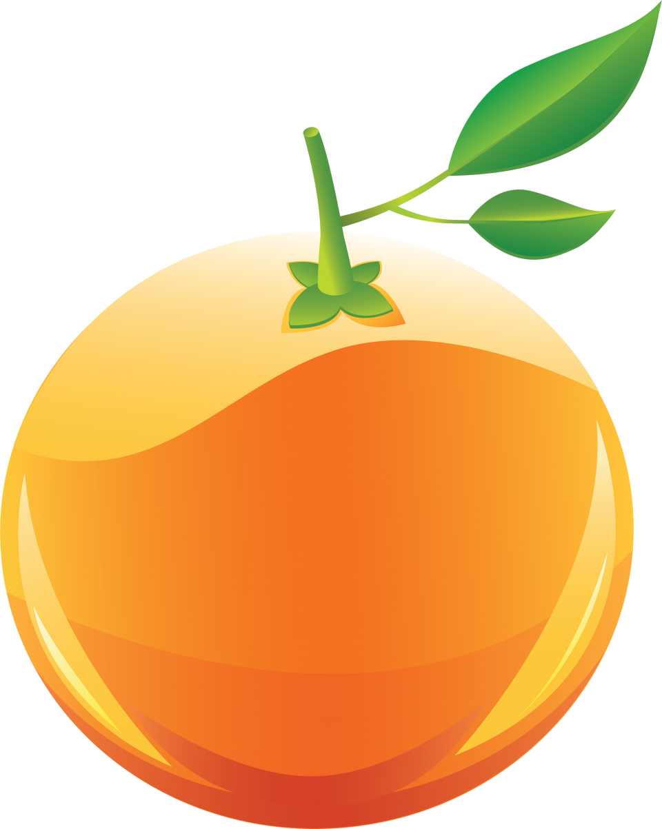 Cricket clipart colour. Mandarin orange free on