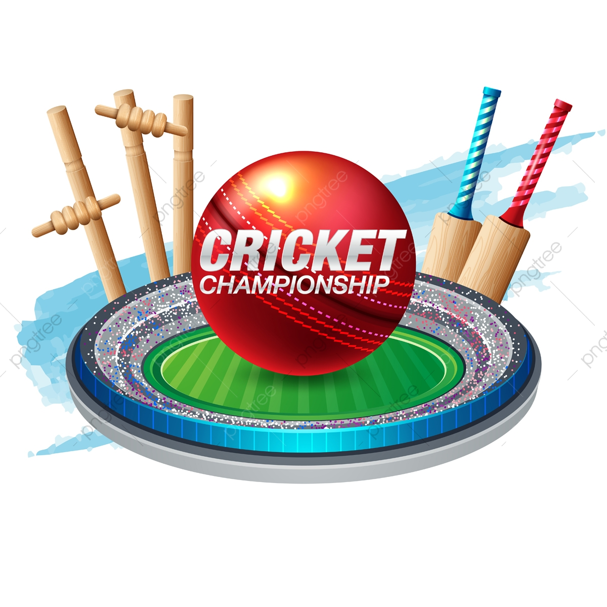 Illustration of batsman and. Cricket clipart cricket champion