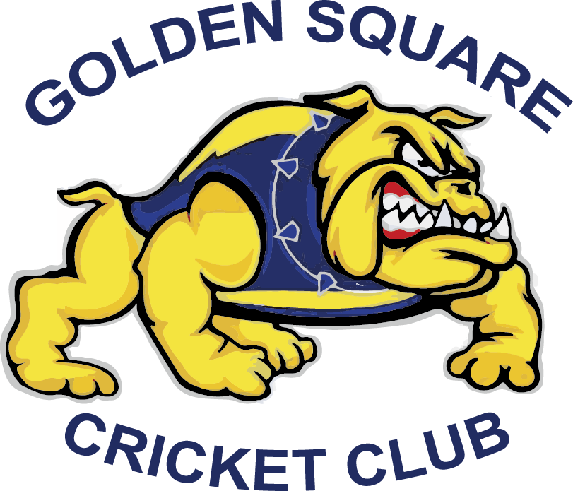 Golden square white hills. Cricket clipart cricket club