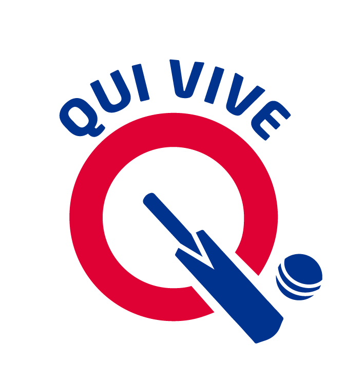 Qui vive club . Cricket clipart cricket ground