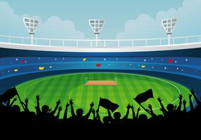 Cricket clipart cricket ground. Free vector art downloads