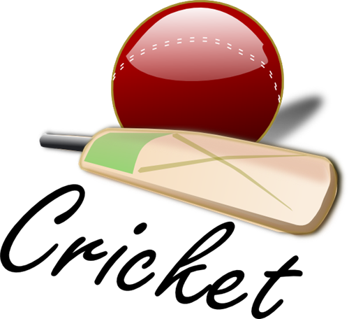 X free clip art. Cricket clipart cricket ground