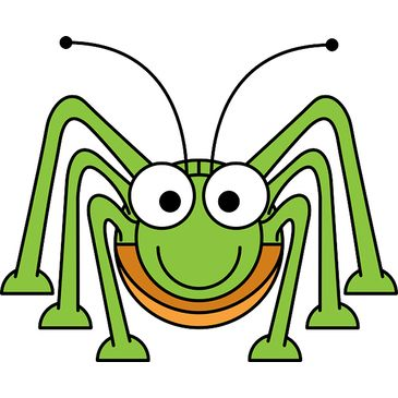 Learn english through play. Cricket clipart quick