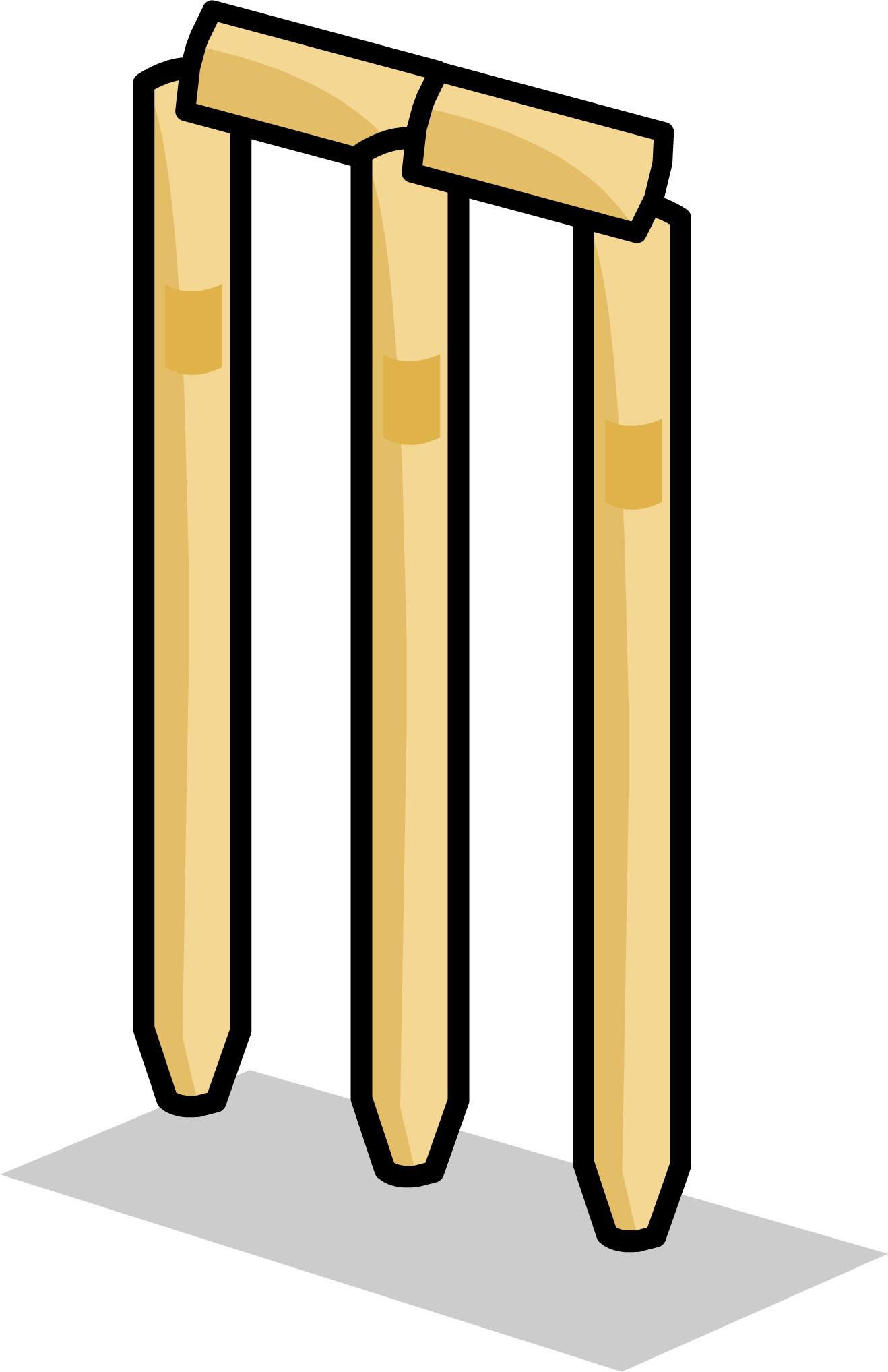 Cricket clipart quiet. Image wickets sprite png