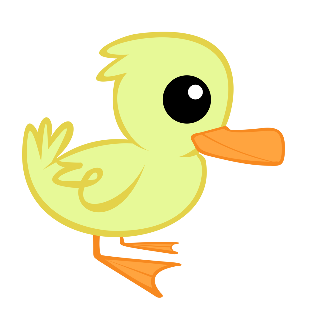 Dead clipart dead goose. Duckling simple free on