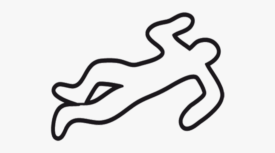 Evidence clipart crime evidence. Criminal scene dead body