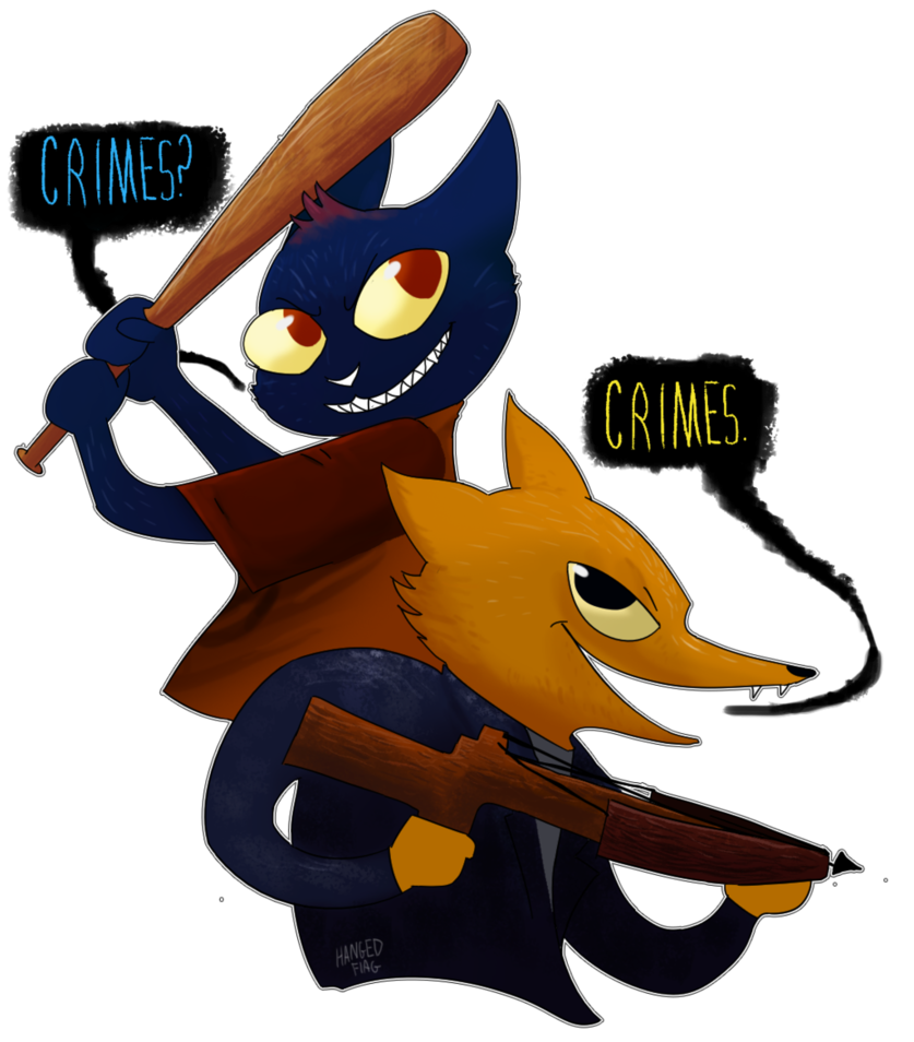 Trouble duo by hangedflag. Crime clipart capture the flag