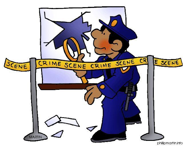 Teacher crime cliparts zone. Evidence clipart police evidence