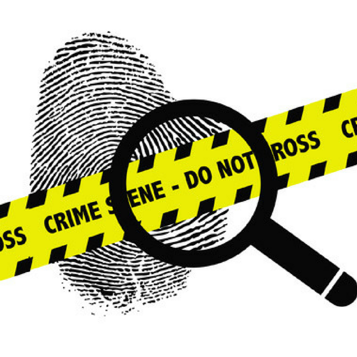 Crime clipart crime investigation. Science cartoon text yellow