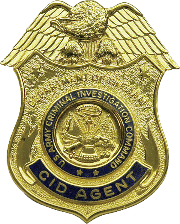United states army criminal. Soldiers clipart badge