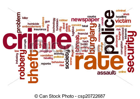 Crime clipart crime rate.  clipartlook