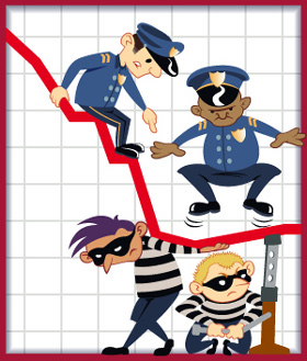 Crime clipart crime rate. The how low can