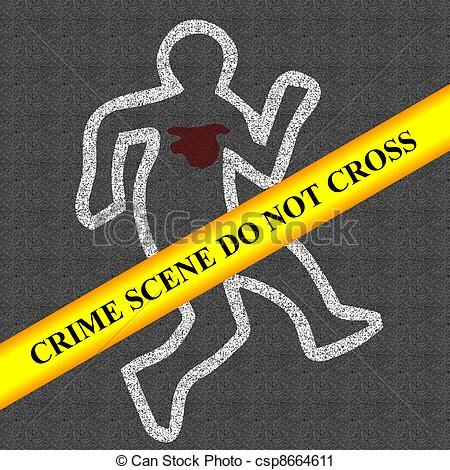 Pin on jailtime cartoons. Crime clipart crime scene