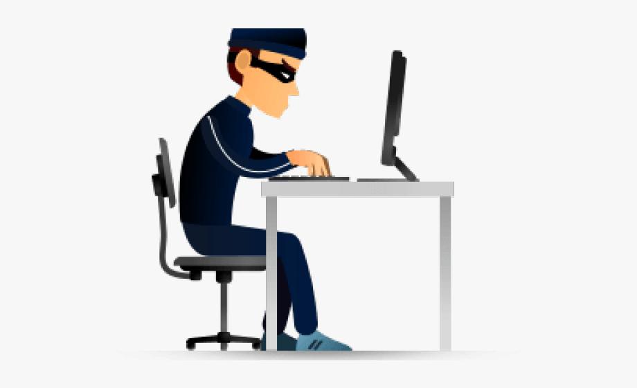 Cyber icon . Criminal clipart computer crime