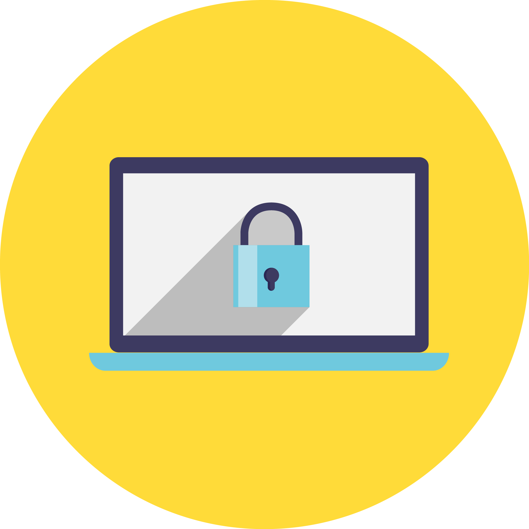 questions to ask. Lock clipart data security
