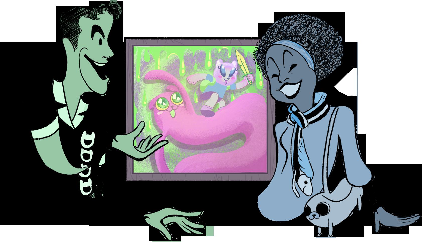 Deviantart art theft by. Worry clipart unconfident