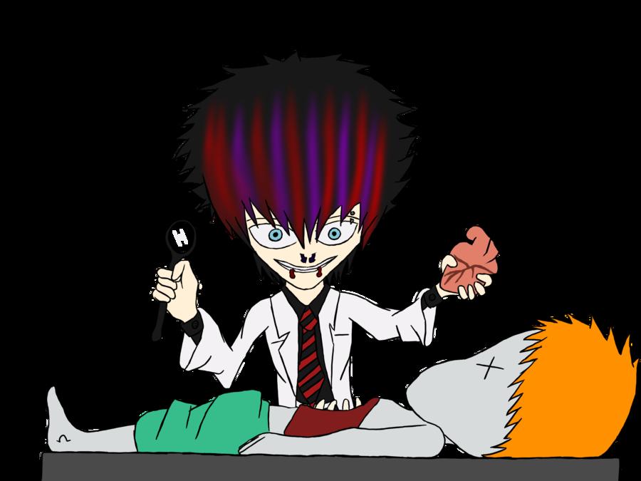 Forensic pathologist by zetsu. Dead clipart autopsy