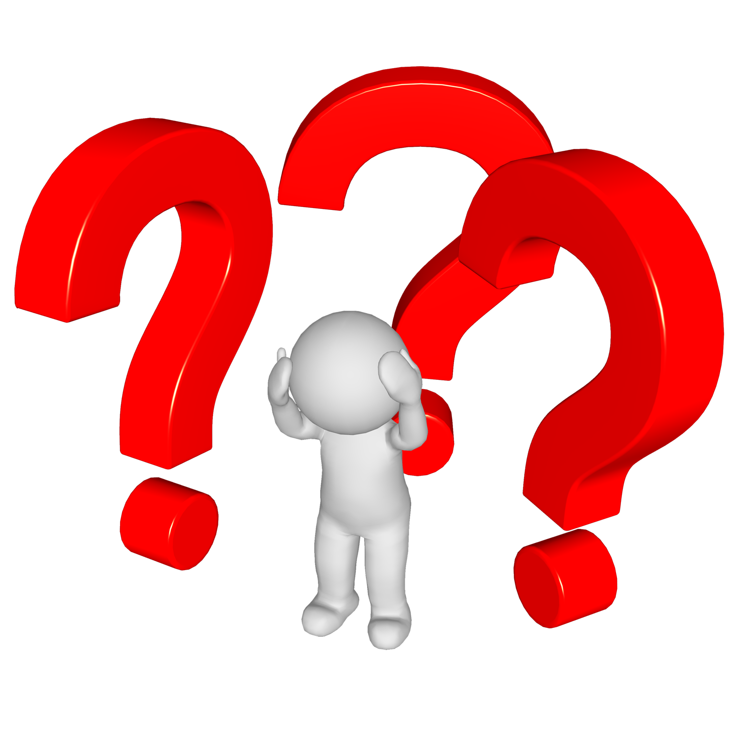 Evidence clipart problem identification. The facing by computer