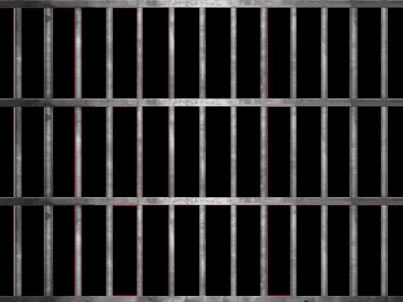 jail clipart jail fence