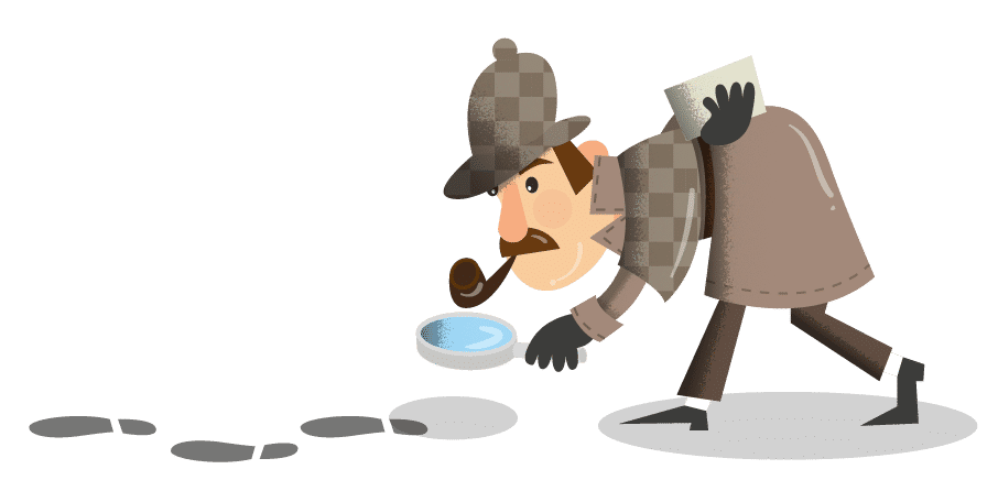 Detective clipart mystery genre. Sherlock holmes puzzles why